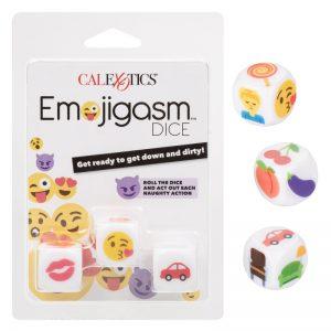 NEW SE2434-05-2 California Exotics  Emojigasm Dice