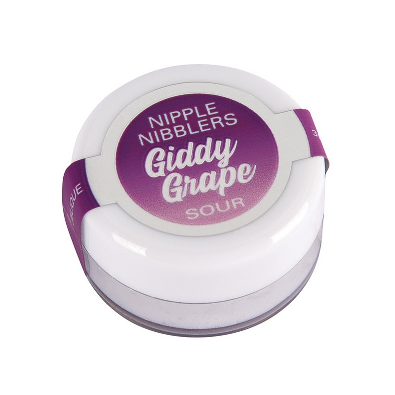 NEW JEL2601-05 Jelique Products 3 g. Nipple Nibblers Sour Tingle Balm Giddy Grape