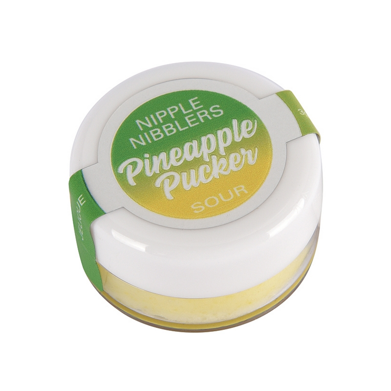 NEW JEL2604-05 Jelique Products 3 g. Nipple Nibblers Sour Tingle Balm Pineapple Pucker