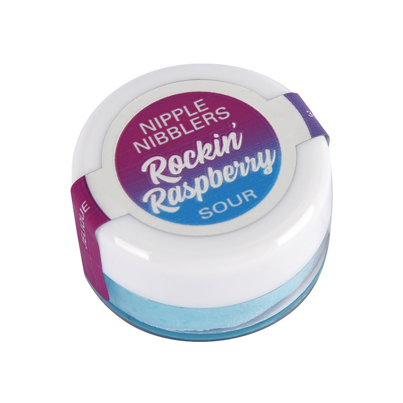 NEW JEL2605-05 Jelique Products 3 g. Nipple Nibblers Sour Tingle Balm Rockin Raspberry