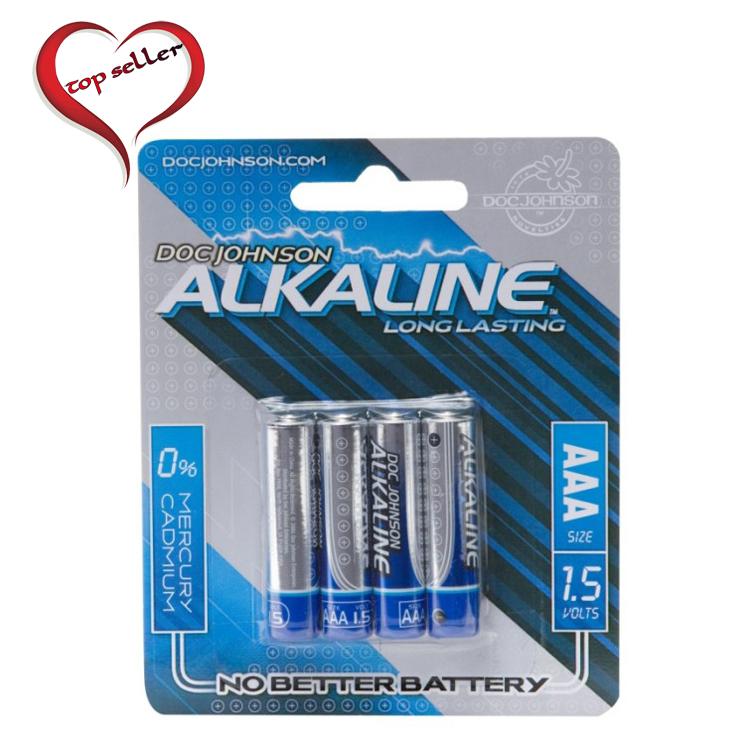 D0399-10 CD Doc Johnson Alkaline Batteries4 Pack AAA Size