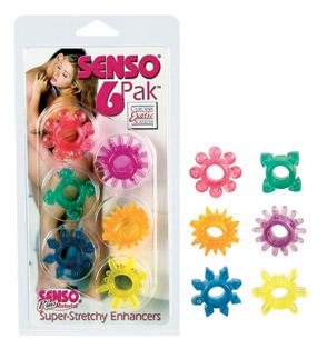 SE1432-00-2  California Exotics Senso 6 Pack