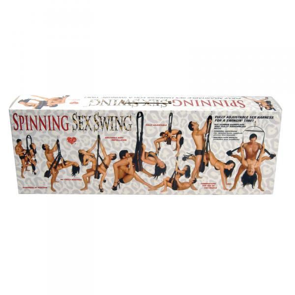 T1014527 Topco Sales Spinning Sex Swing in Wild Leopard Print