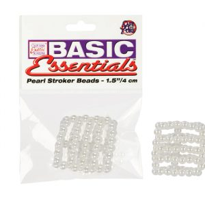 SE1727-10-2Basic Essentials – Pearl Stroker Beads – 5 Rings – 1.5 Inches SALE PRICED WHILE STOCK LASTS