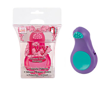 SE2128-30-3Ivy Intimate Touch Massager - Purple SALE PRICED WHILE STOCK LASTS