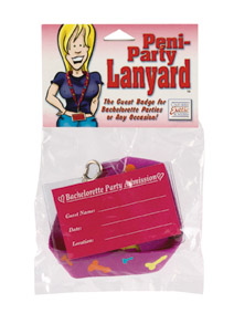 SE2429-00-2Peni Party Lanyard SALE PRICED WHILE STOCK LASTS