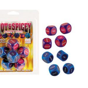 SE2434-00-2 California Exotics Hot & Spicy Dice Game