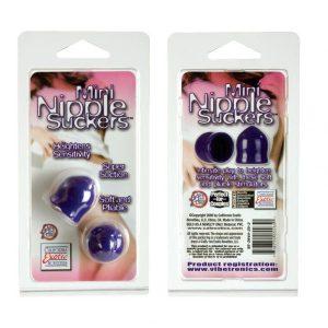 SE2644-25-2Mini Nipple Suckers - Purple