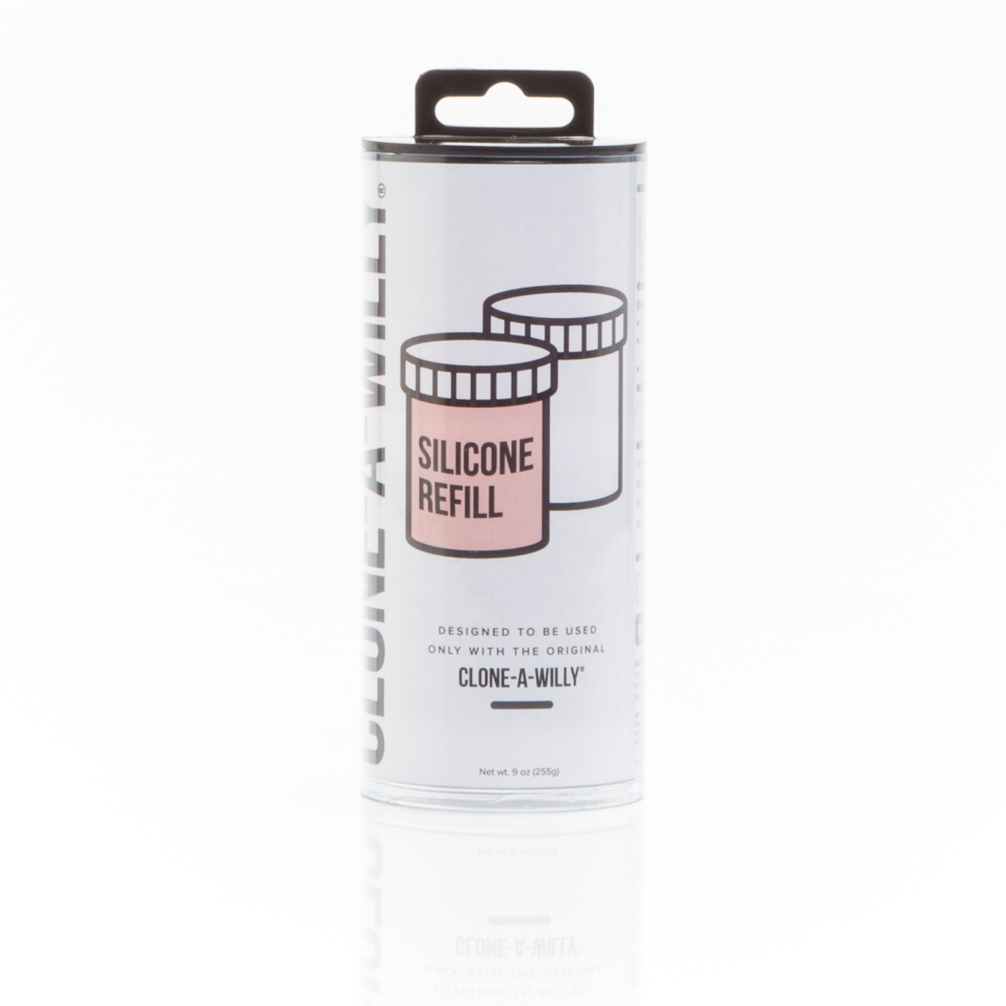 30035 Empire Labs  Clone-A-Willy Liquid Silicone RefillLight Tone