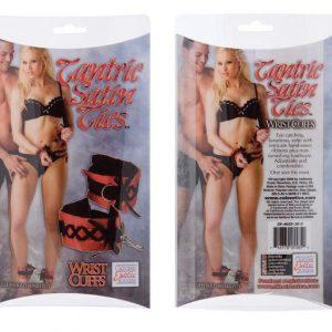 SE4025-30-3 Tantric Satin Ties - Wrist Cuffs