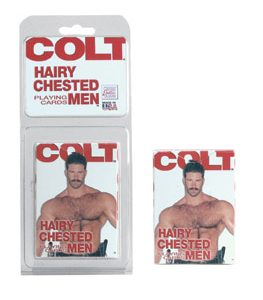 SE6800-20 CL Colt – Hairy Chested Men Playing Cards – Per Deck SALE PRICED WHILE STOCK LASTS