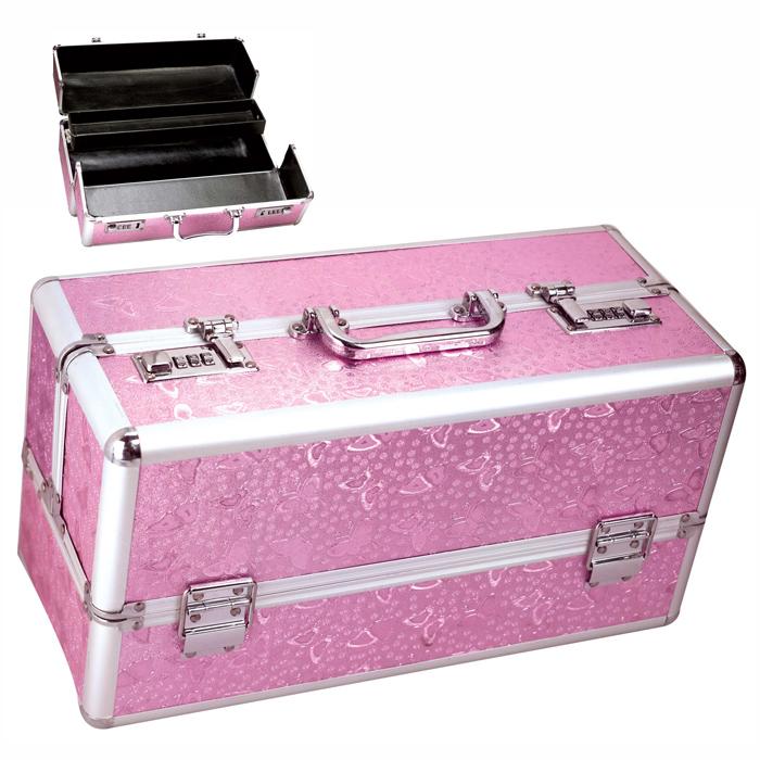 B1010 Large Lockable Vibrator Case Pink