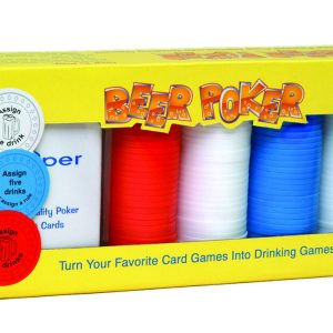 BGD95 Kheper Games Beer Poker Game SALE PRICEDWHILE STOCK LASTS