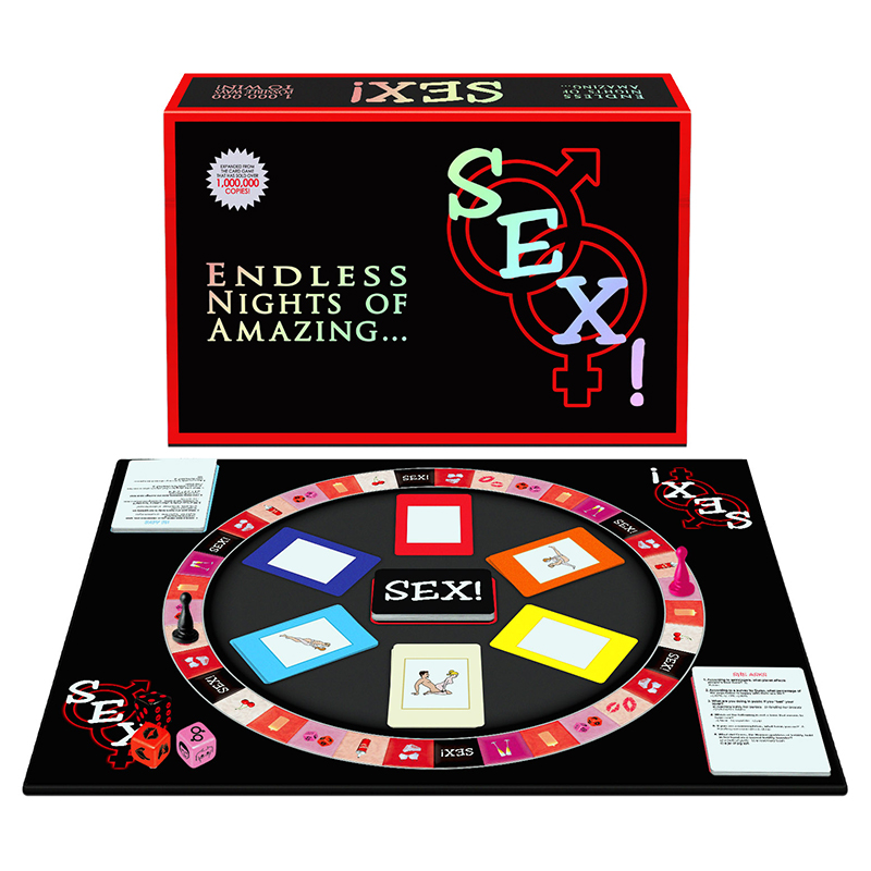 BGR135 Kheper Games Sex! Board Game