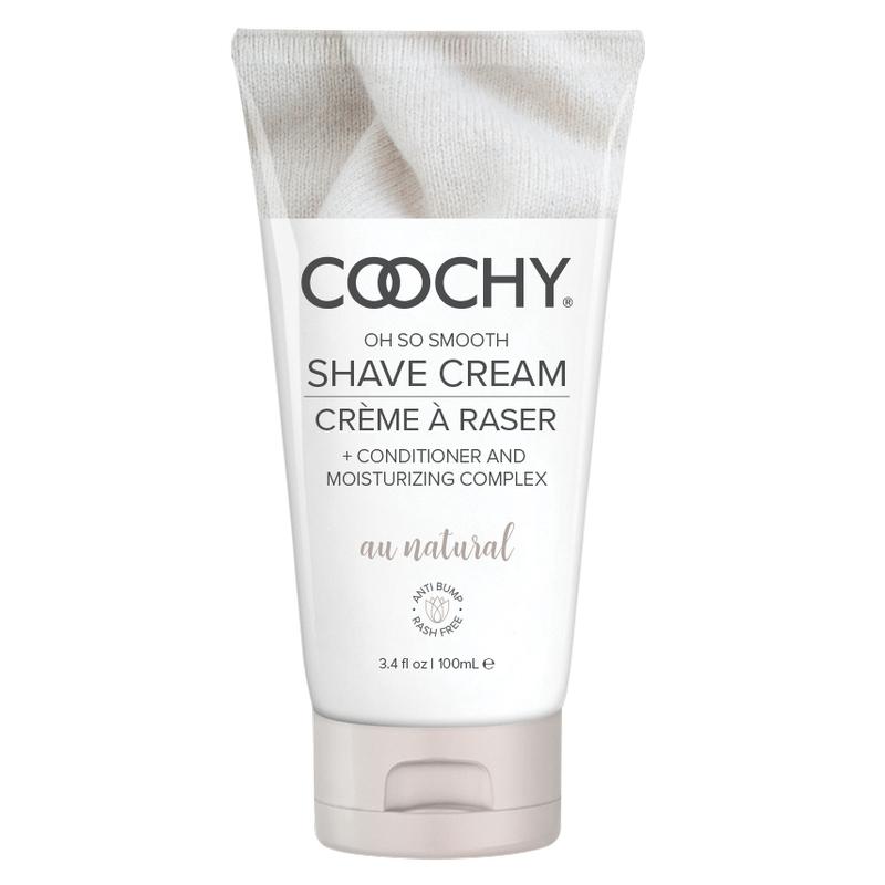 C1001-03 Classic Erotica 3.4 oz Coochy Shave Cream Au Natural