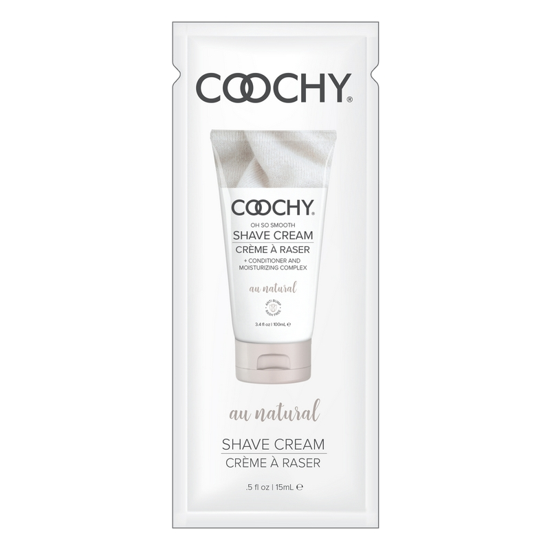 C1001-05 Classic Erotica  15 ml Coochy Shave Cream Au Natural Foil