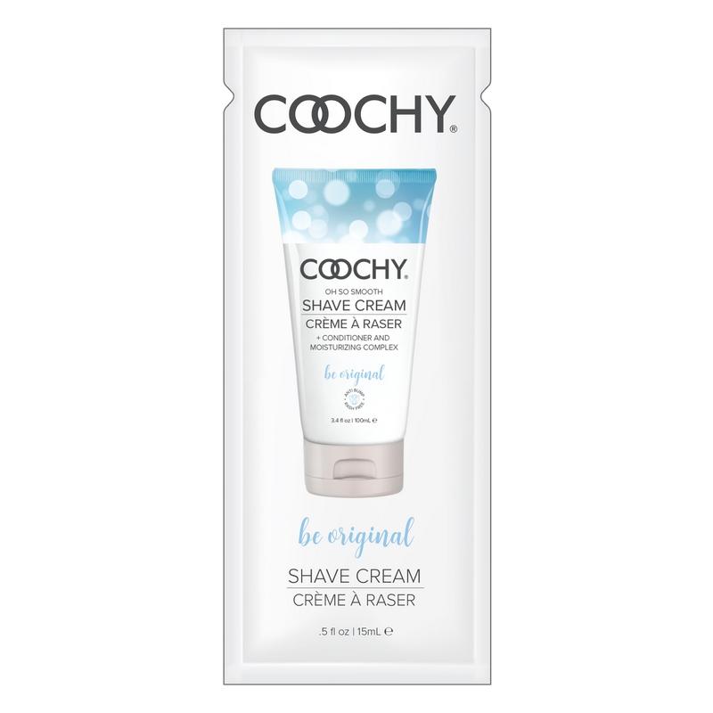 C1002-05 Classic Erotica  15 ml Coochy Shave Cream Be Original Foil