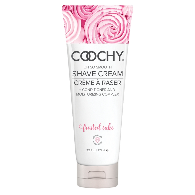 C1003-07 Classic Erotica 7.2 oz Coochy Shave Cream Frosted Cake
