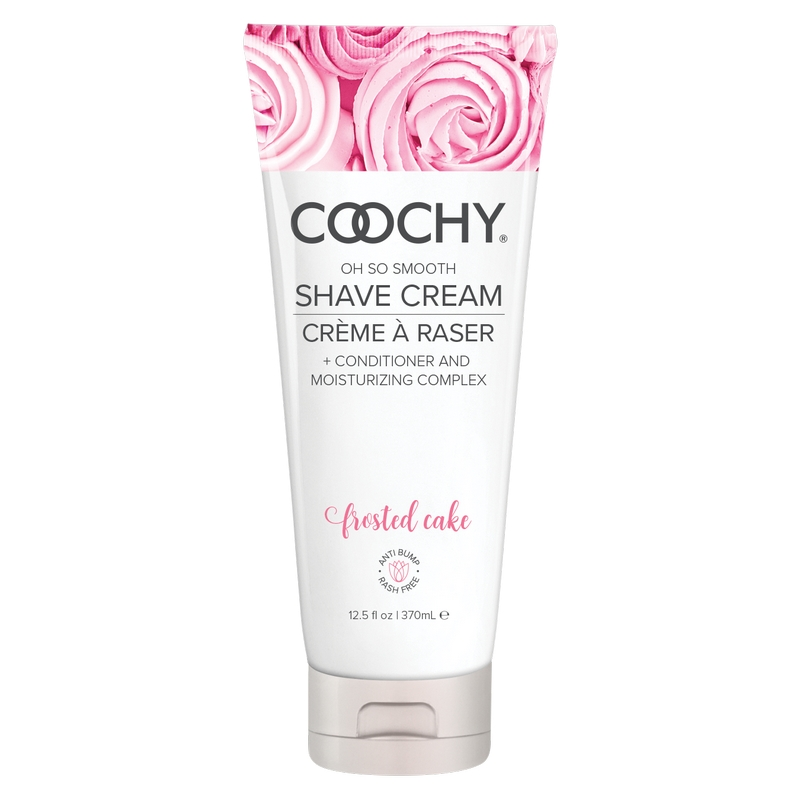 C1003-12 Classic Erotica  12.5 oz Coochy Shave Cream Frosted Cake
