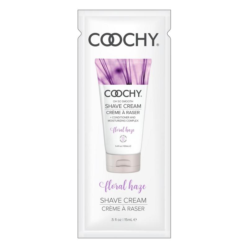 C1004-05 Classic Erotica 15 ml Coochy Shave Cream Floral Haze Foil