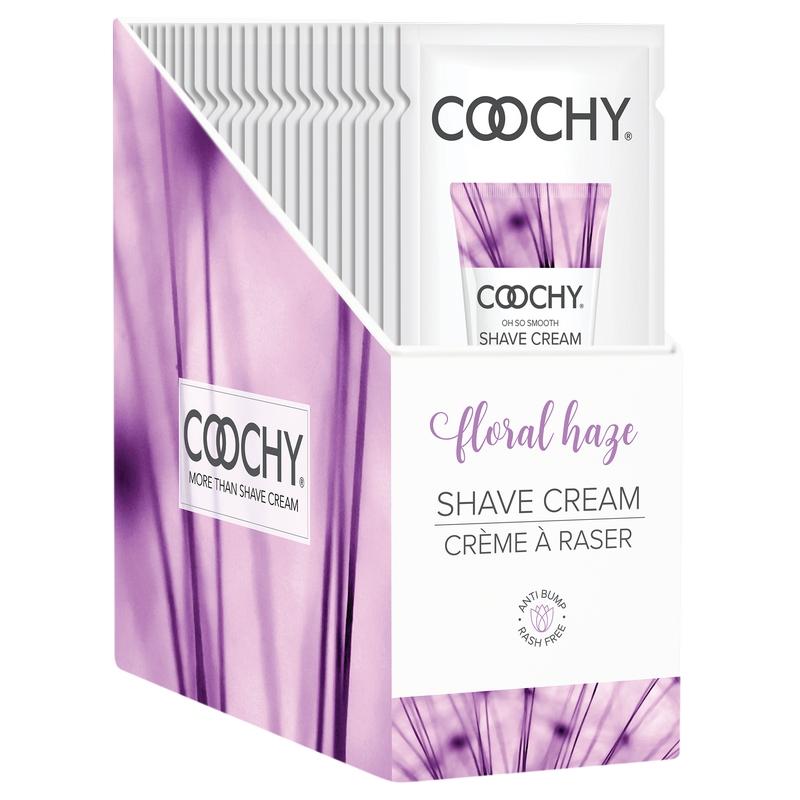C1004-99 Classic Erotica 15 ml Coochy Shave Cream Floral Haze Display of 24 Foils
