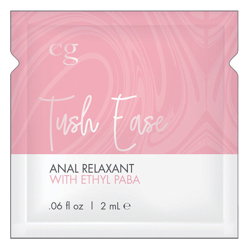 C3102-05 Classic Erotica CG Tush Ease Anal Relaxant – Ethyl Paba Foil Pack