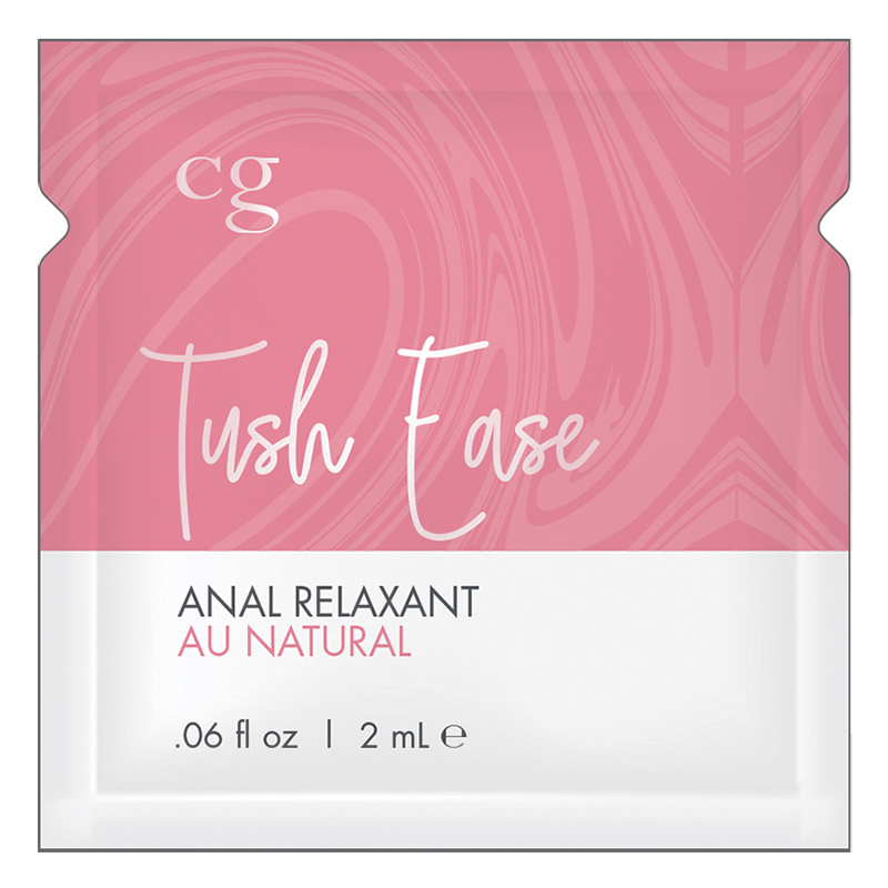 C3103-05 Classic Erotica CG Tush Ease Anal Relaxant Au Natural Foil Pack