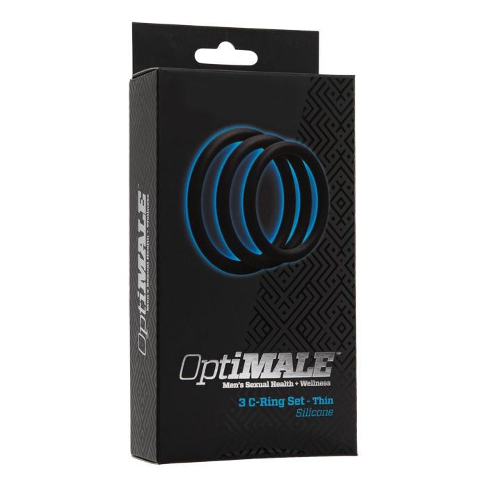 D0690-01 BX Doc Johnson Optimale 3 C-Ring Set Thin Black