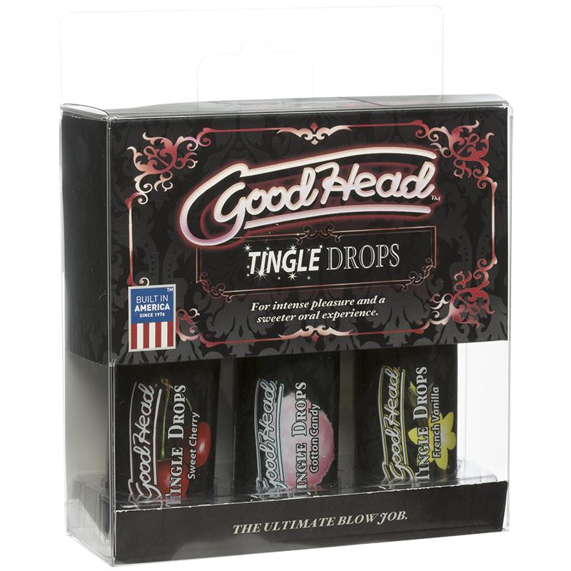D1360-19 BX Doc Johnson Goodhead Tingle Drops 3 Pack