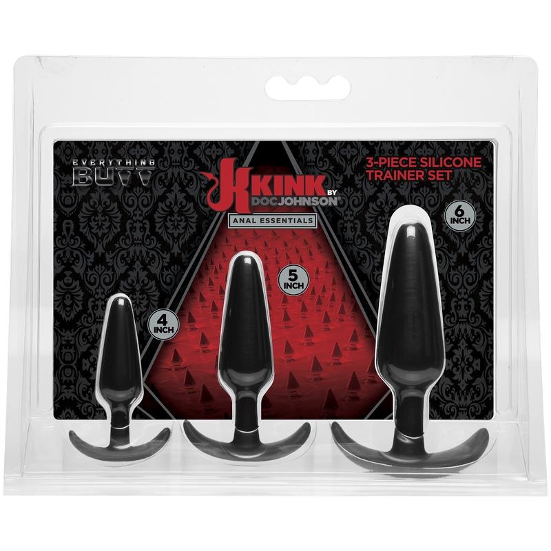 D2401-47 CD Doc Johnson Kink Anal Trainer Set Black