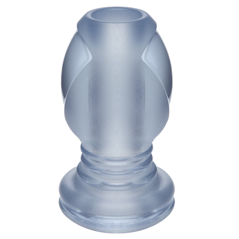 D3200-17 BX Doc Johnson The Hollow Open Tunnel Anal Plug Clear