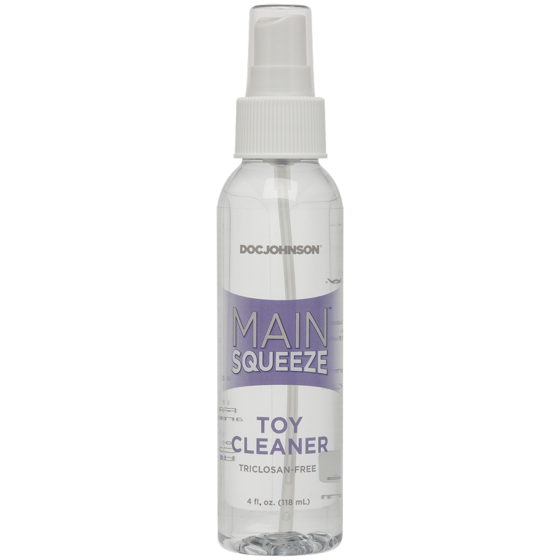 D5205-04 BU Doc Johnson 4 oz. Main Squeeze Toy Cleaner