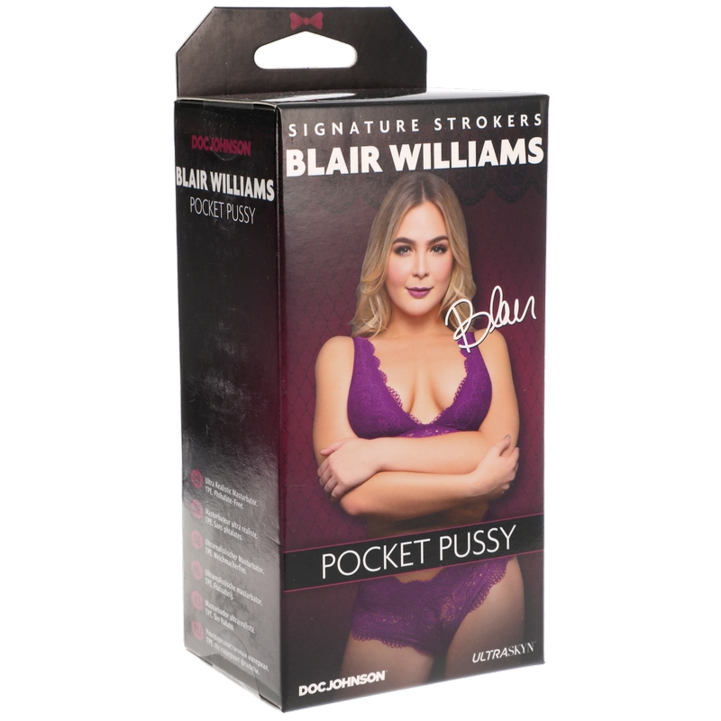 D5510-12 BX Doc Johnson Blair Williams UltraSkyn Pocket Pussy