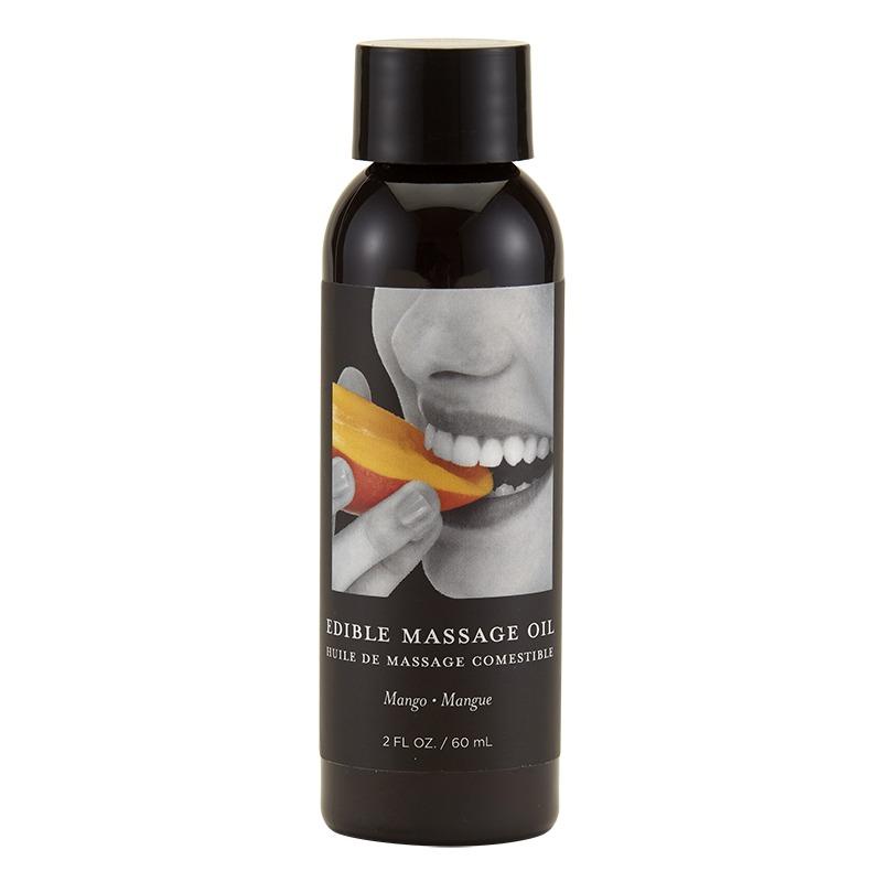 EB4606 Earthly Body 2 oz. Edible Massage Oil Mango