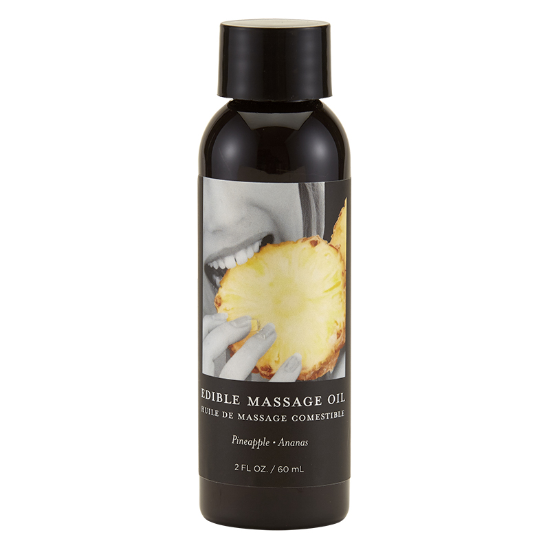 EB4608 Earthly Body 2 oz. Edible Massage Oil Pineapple