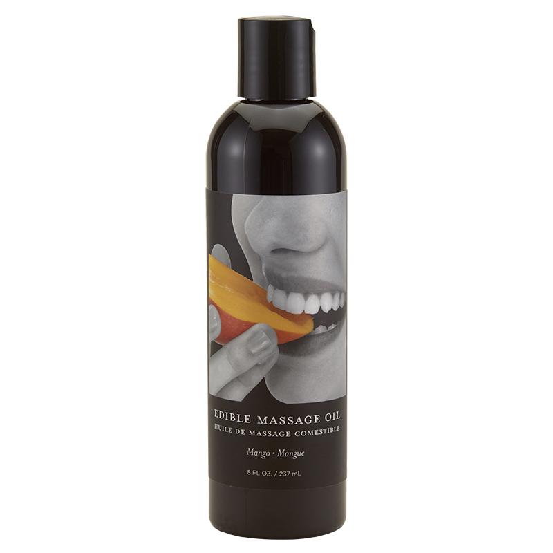 EB5004 Earthly Body 8 oz. Edible Massage Oil Mango
