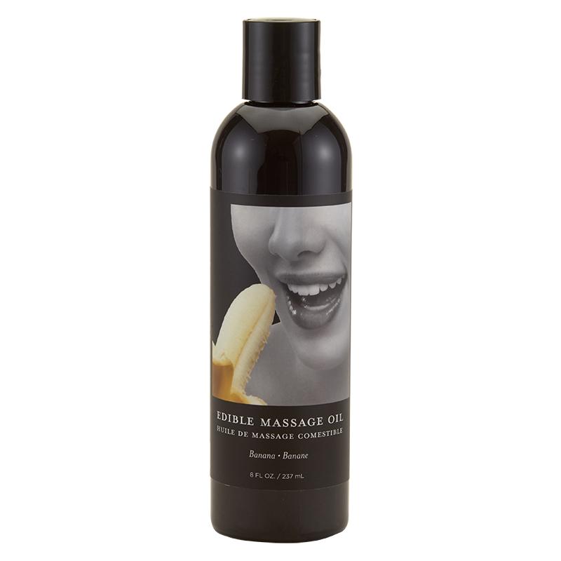 EB5005 Earthly Body 8 oz. Edible Massage Oil Banana