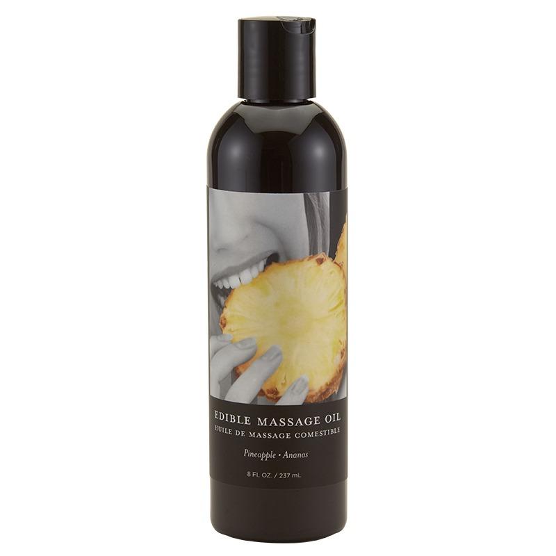 EB5006 Earthly Body 8 oz. Edible Massage Oil Pineapple