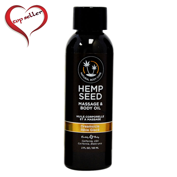 EB5200 Earthly Body 2 oz Massage Oil Dreamsicle