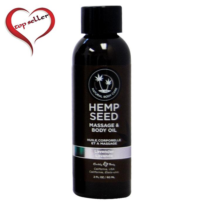 EB5202 Earthly Body 2 oz Massage Oil Lavender