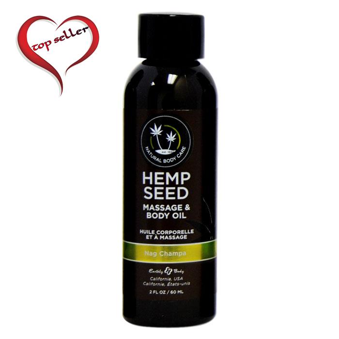 EB5203 Earthly Body 2 oz Massage Oil Nag Champa