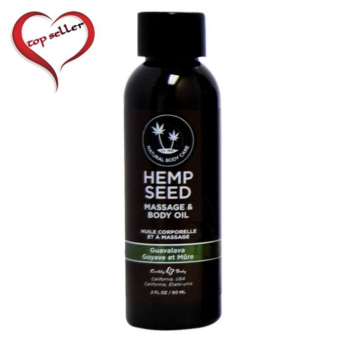 EB5206 Earthly Body 2 oz Massage Oil Guavalava