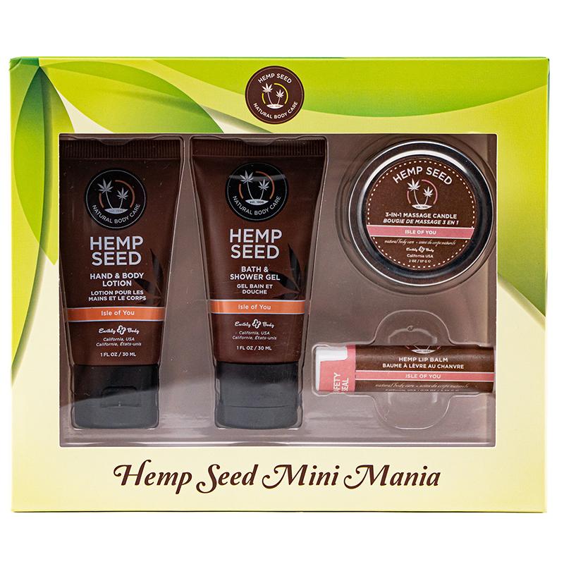 EB5552  Earthly Body Hemp Seed Mini Mania Set Isle of You
