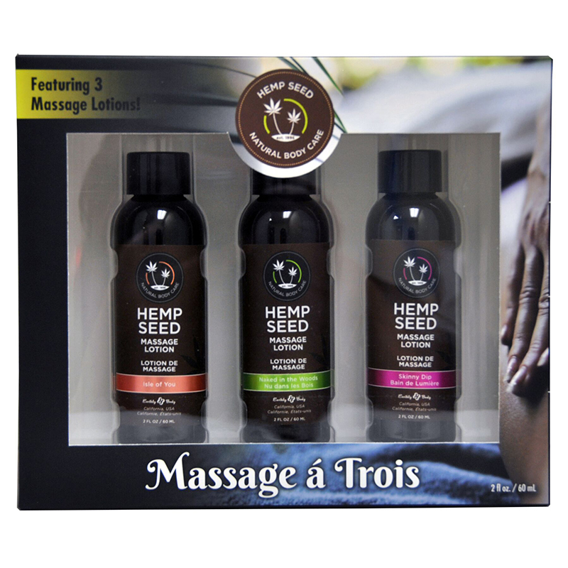 EB5561 Earthly Body Massage a Trois Gift Set