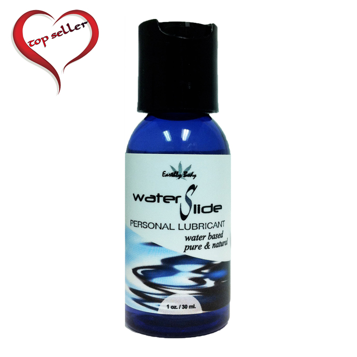 EB9002  Earthly Body 1 oz. Waterslide All Natural Lubricant