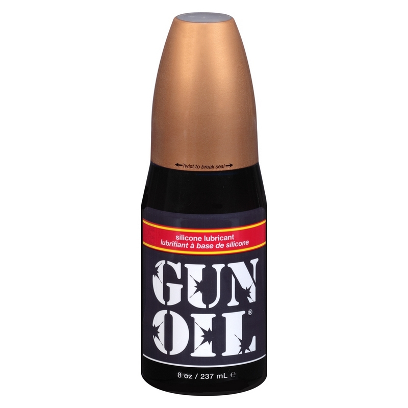 EM1008 Empowered Products 8 oz. Gun Oil Silicone Lube