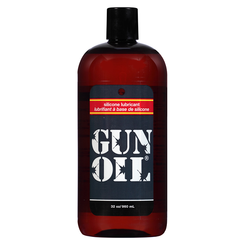 EM1032 Empowered Products 32 oz Gun Oil Silicone Lube