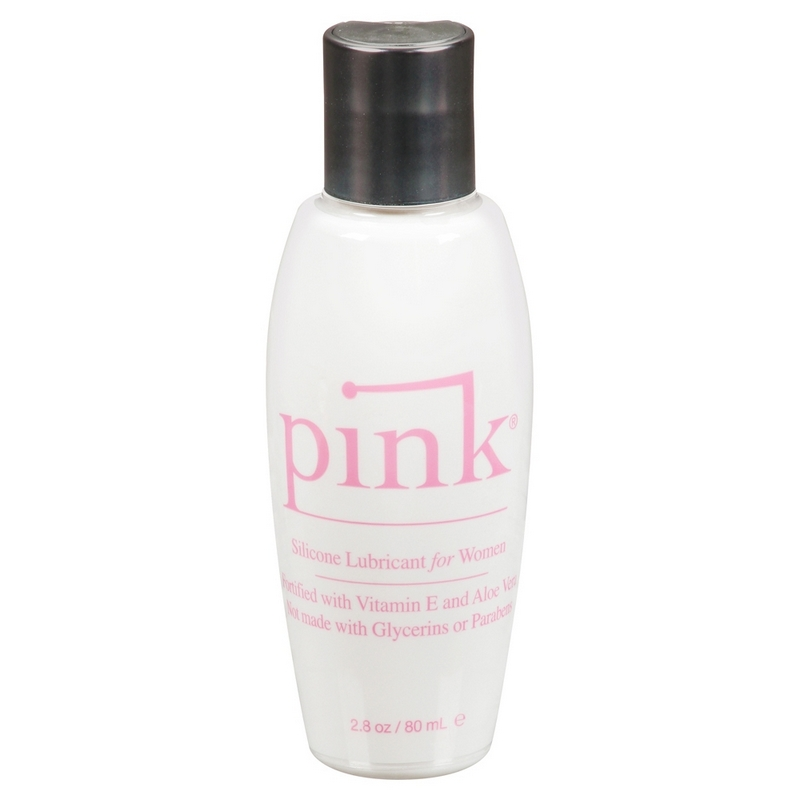 EM1202 Empowered Products 2.8 oz. Pink Silicone Lube