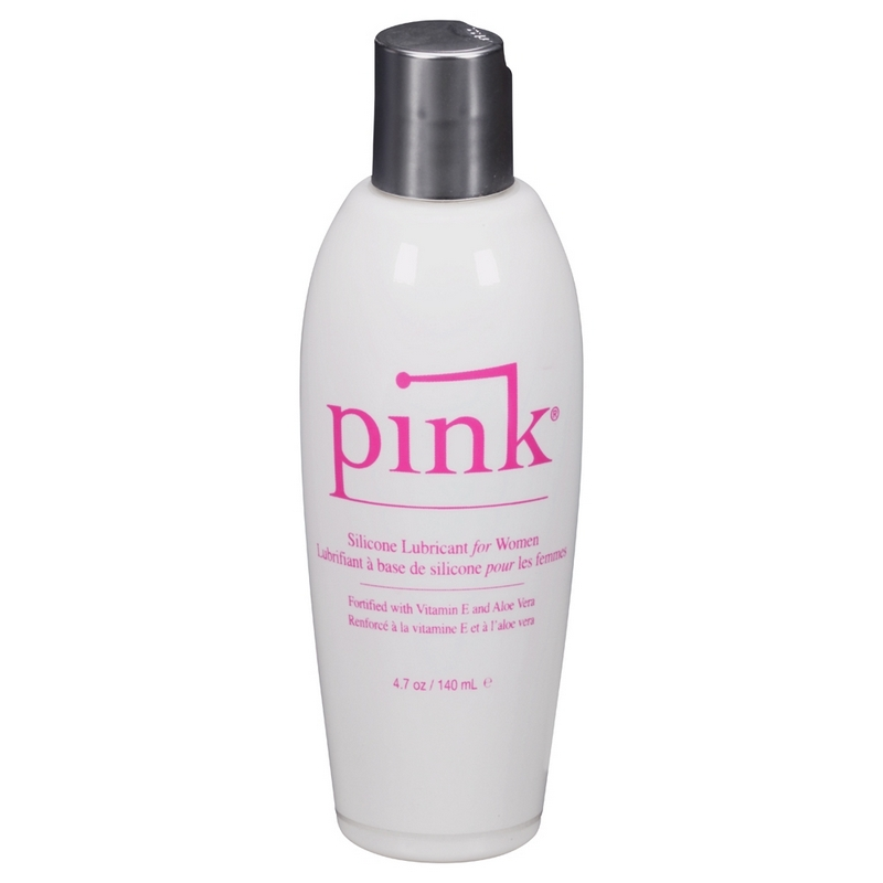 EM1204 Empowered Products 4.7 oz. Pink Silicone Lube