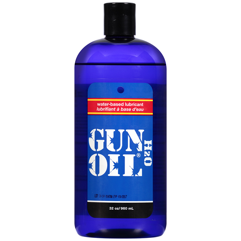 EM1332 Empowered Products 32 oz Gun Oil H2O Water Based Lube